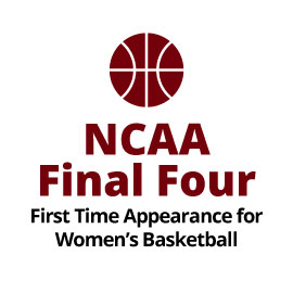 Infographid: NCAA Final Four First Time Appearance for Women's Basketball