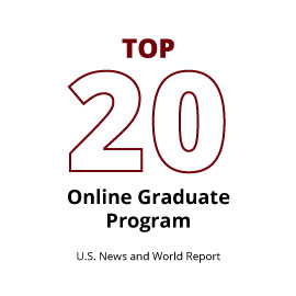 Infographic: Top 20 online graduate program (U.S. News and World Report, 2014)