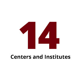 Infographic: 14 Centers and Institutes