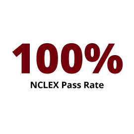 Infographic: 98.3% NCLEX Pass Rate