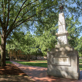 Maxcy Monument on Horseshoe