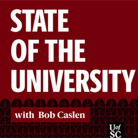 State of the University with Bob Caslen artwork