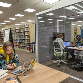 Thomas Cooper library renovation